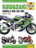Kawasaki ZX-6R Ninja Service and Repair Manual (Editors of Haynes Manuals)(Paperback)