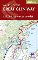 Great Glen Way Map Booklet - 1:25,000 OS Route Mapping(Paperback)