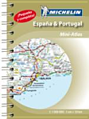Spain and Portugal 2015 Mini-Atlas(Spiral bound)